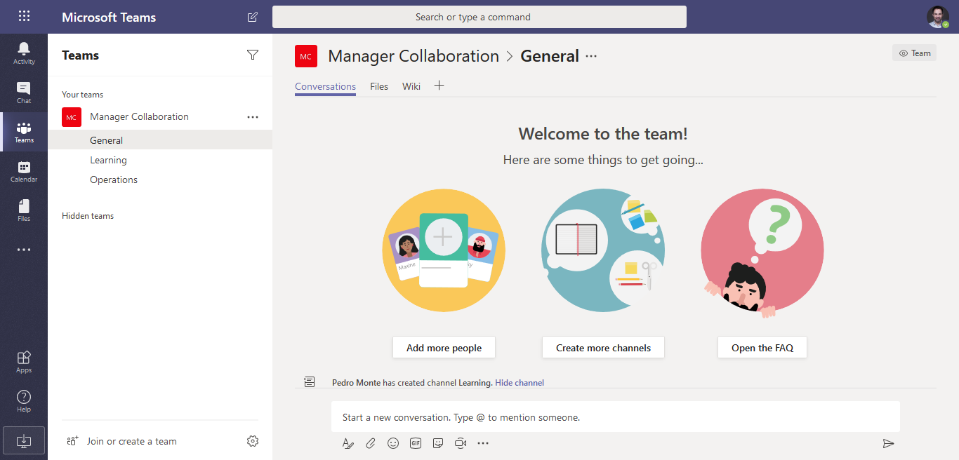 retailmanagercollaboration template