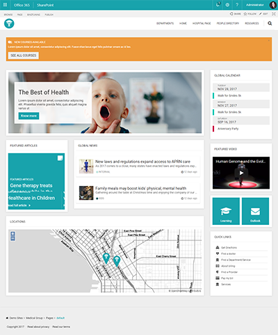 medicalgroup template