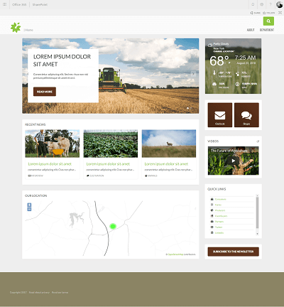 agricultureindustry template