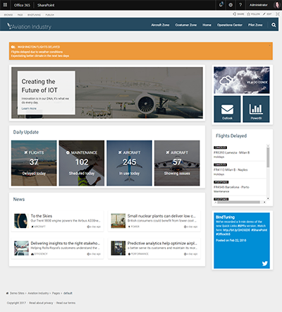 aviationindustry template
