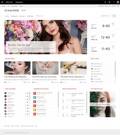 cosmeticsretail template