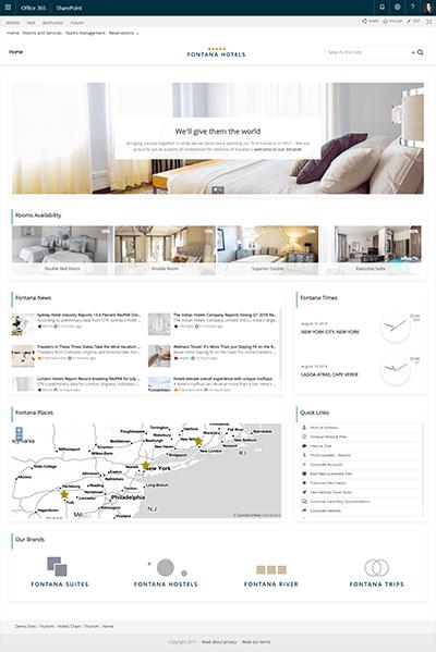 hotelschain template